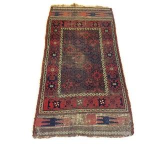 "Vintage Tribal Persian Rug - 3' x 5'10"""
