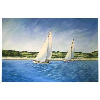 June Parrish Cookson Original Waterscape Painting