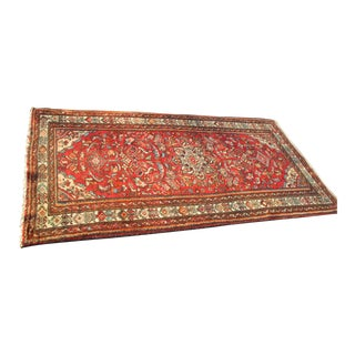 Vintage Hand Knotted Persian Rug-3′6″ × 6′10″