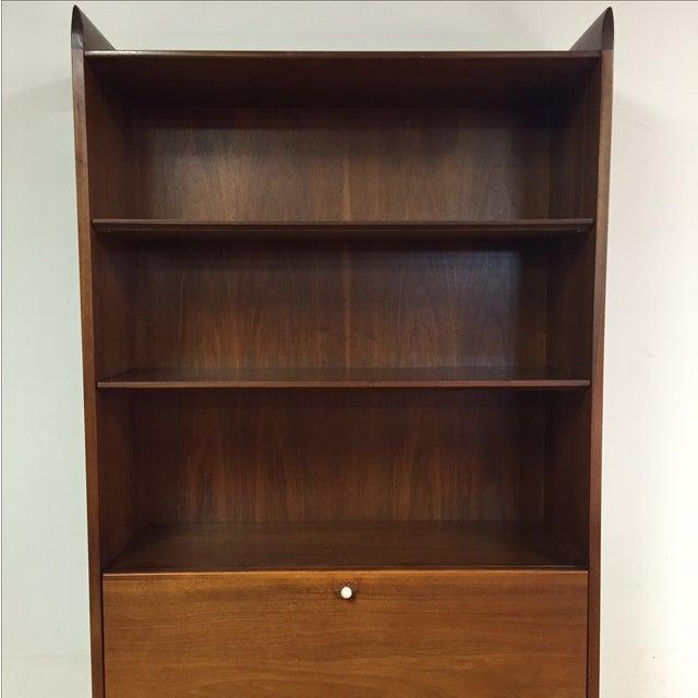 Drexel Kipp Stewart Bookcase Desk - Image 4 of 11
