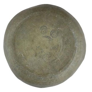 18th-C. London Pewter Bowl