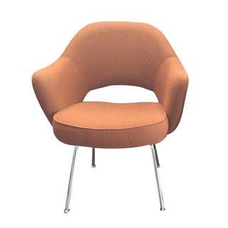 Eero Saarinen Knoll Orange Armchairs — 60 Availabl