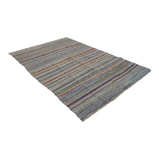 "Ragrug Cotton Turkish Kilim Rug - 6'7"" x 9'6"""