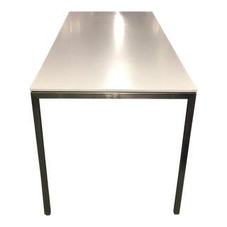 Modern Custom Steel and Corian Desk - 6 Available