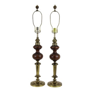 Mid-Century Rembrandt Table Lamps - A Pair