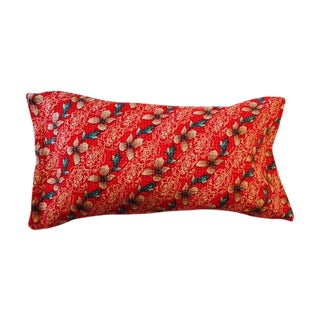 Reversible Vintage Kantha Pillow Cover