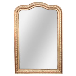 French Louis Philippe Arched Mirror