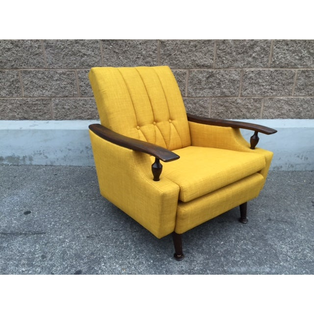 Mid-Century Atomic Lounge Chair - Image 2 of 3