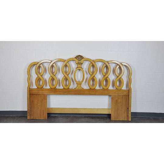 Image of 1960's Vintage French Provincial King Headboard