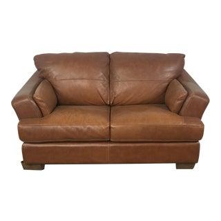 Natuzzi Genuine Leather Loveseat