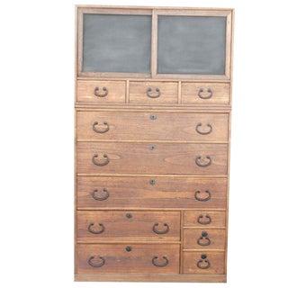 Antique Japanese Choba Tansu Dresser
