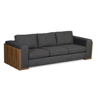 Elite Leather Contemporary Sofa