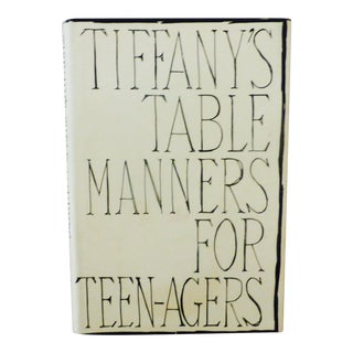 Tiffany's Table Manners for Teens, Illustrated by Joe Eula