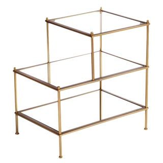 Jayden 3 Tiered Mirrored End Table