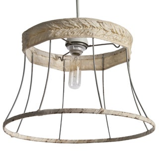 Lampshade Frame Pendant Light