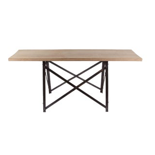 French Narrow Trestle Table
