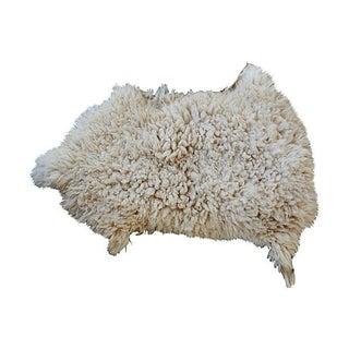 "Vintage Large Beni Ourain Sheepskin - 2'8"" x 3'11"""