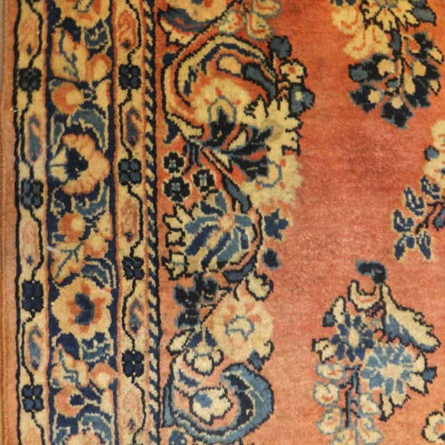 "Leon Banilivi Antique Persian Sarouk 6'6"" X 2'7"" - Image 4 of 4"