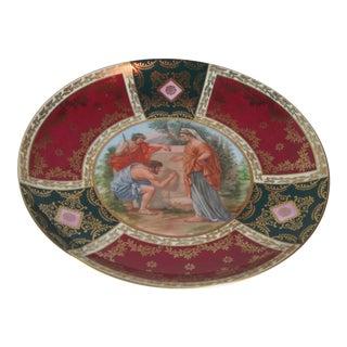 Carlsbad Sevres Style Porcelain Mythological Plate