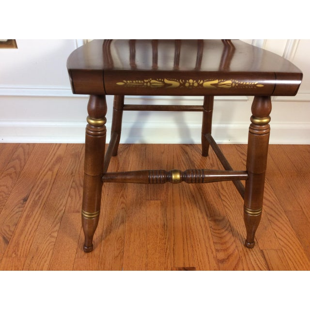 Vintage Hitchcock Inn Chair - Image 6 of 8