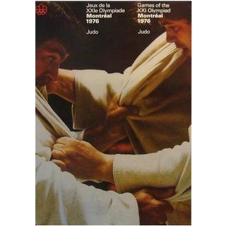 1976 Montreal Olympics Judo Poster