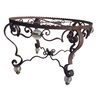Vintage Iron Table Base