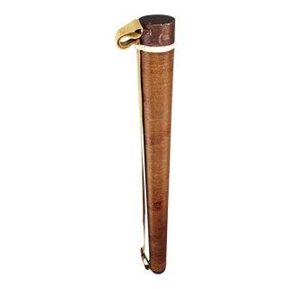 """Vintage Turner Bros """"Delight"""" Travel Fishing Rod Case"""