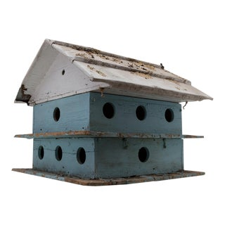 Monumental Purple Martin Bird House Garden Decor