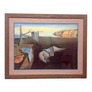 Salvador Dali Persistence of Memory Lithograph