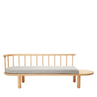 White Oak Spindle Bench