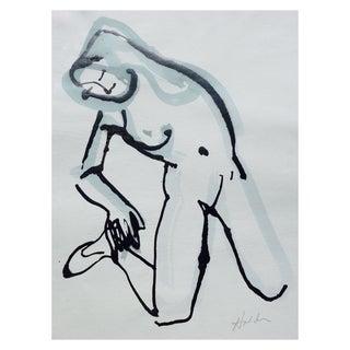 """Stretch"" Original Drawing by Martha Holden"