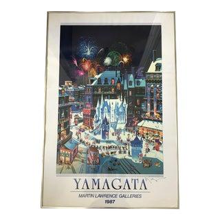1987 Signed Yamagata Poster