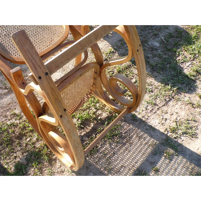 Bentwood Thonet Style Rocking Chair - Image 5 of 5