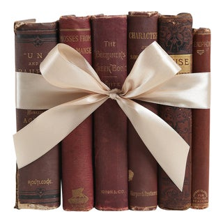 Antique Book Gift Set: Currant & Gilt, S/6