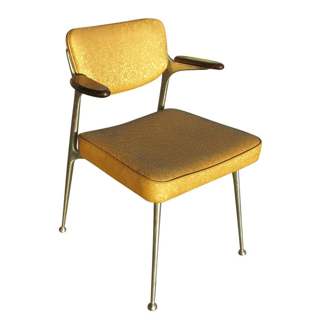 Aluminum Gazelle Armchairs by Shelby Williams -S/4 - Image 2 of 10