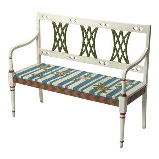 Butler Specialty Fawcett Alice in Wonderland Bench