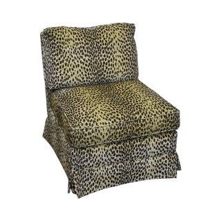 Sherrill Cheetah Upholstered Lounge Chair