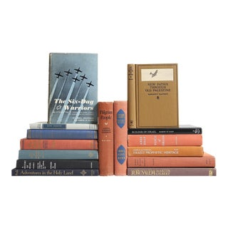 Jewish History & Heritage Book Collection - Set of 15