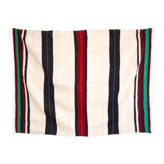 Moroccan Berber Stripe Throw