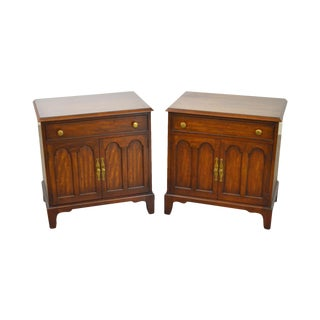 Morgantown Tidewater Collection Mahogany Nightstands - A Pair