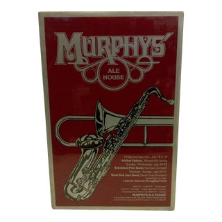 1980 Murphy's Ale House Chicago Concert Poster