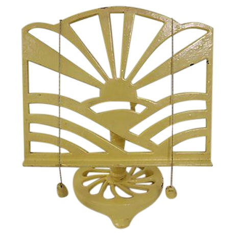 French Cast Iron Cookbook Stand - Image 1 of 4