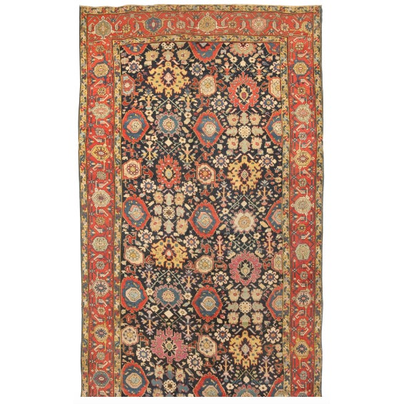Image of Antique 19th Century Caucasian Karabagh Carpet