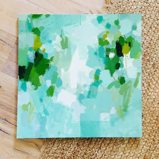Katherine Jury - Green Botanical I Painting - Image 4 of 4