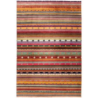 """Lori Hand Knotted Area Rug - 6'1"""" X 9'0"""""""