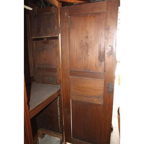 18th Century French Oak Armoire - Image 6 of 6