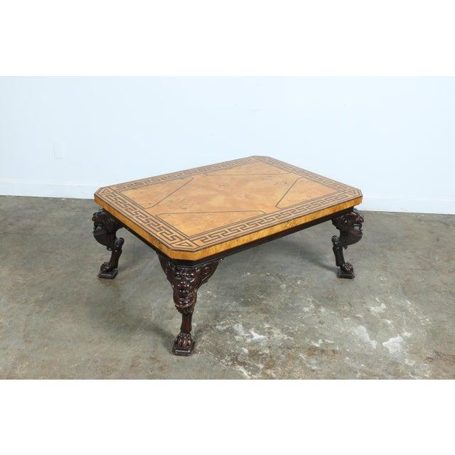 Baker Burlwood Coffee Table Chairish