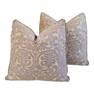 Custom Italian Pillows - A Pair