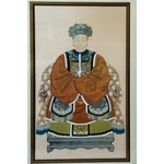 Image of Chinese Empress Ancestor Portrait Painting