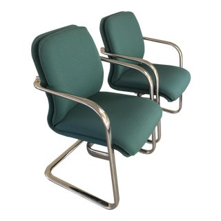 Arcadia Modern Executive Chairs - A Pair
